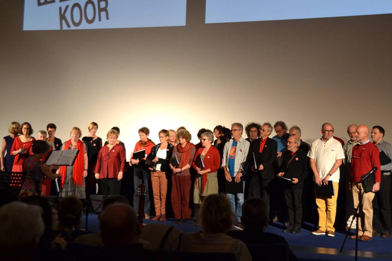 Brüsseler Brecht-Eisler-Koor 31.10.2015