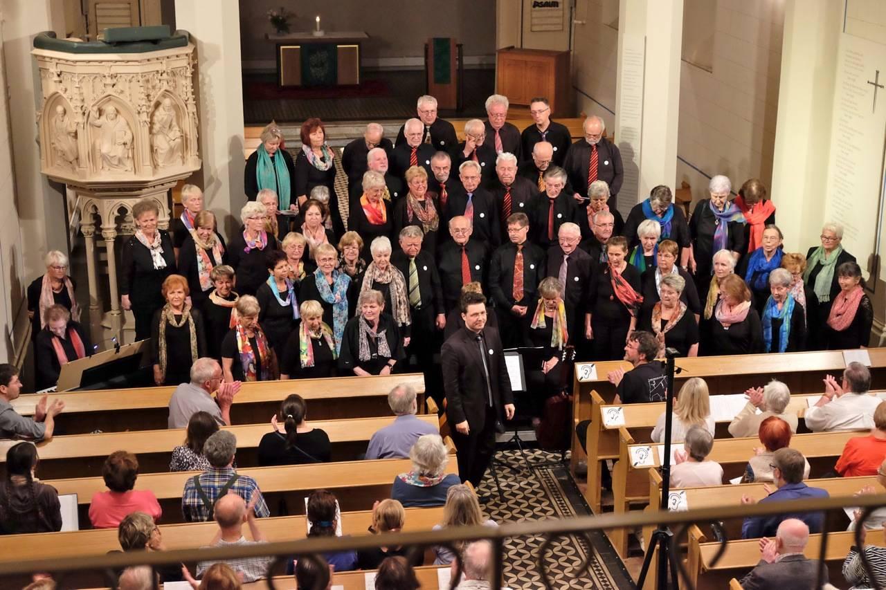 Auftritt Alte Pfarrkirche Berlin-Pankow zum Weltfriedenstag